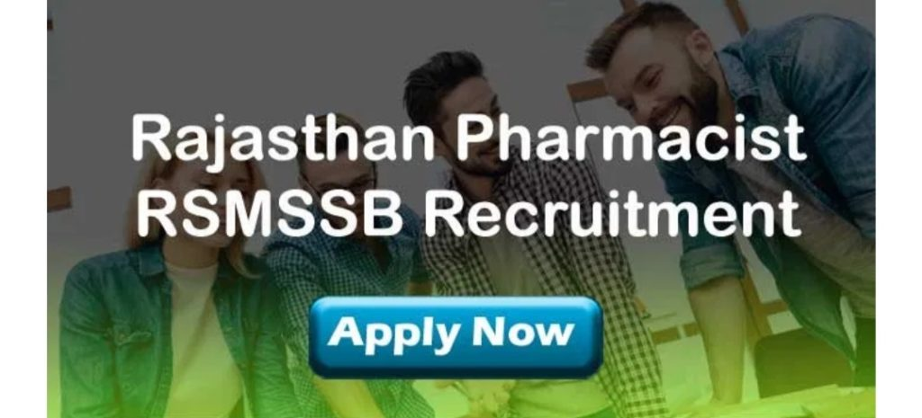 RSMSSB Pharmacist Recruitment 2020