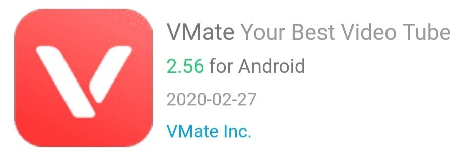 Vmate app
