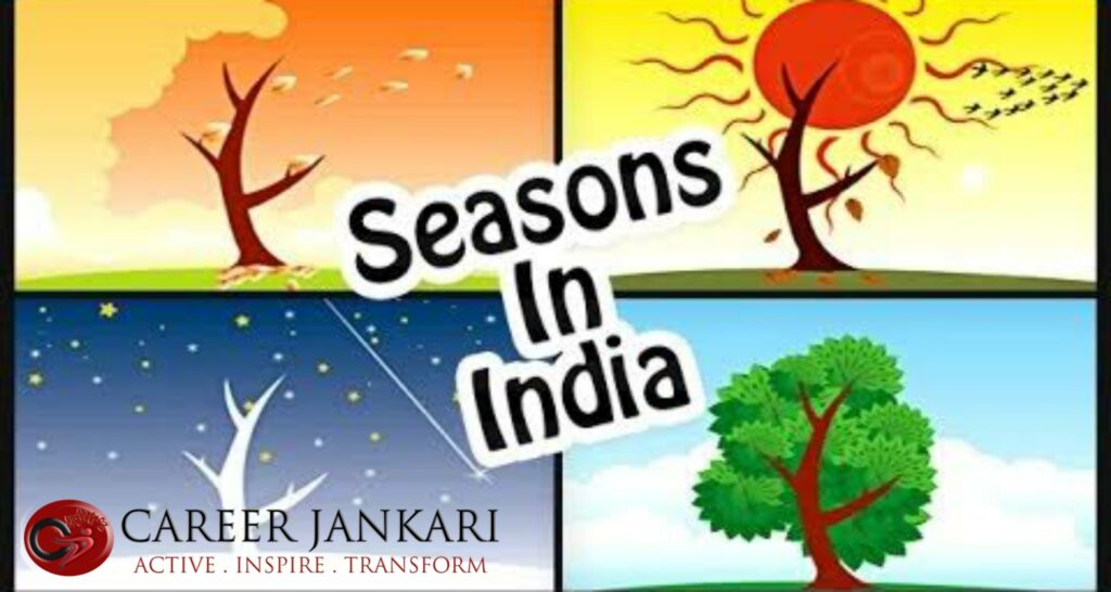 types of seasons in india in hindi