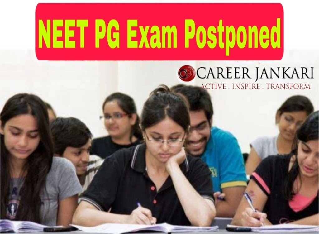 NEET PG exam postponed by 4 months