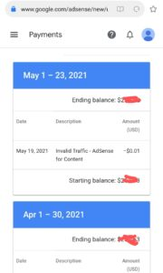 Google Adsense Payment Not Released 21st
