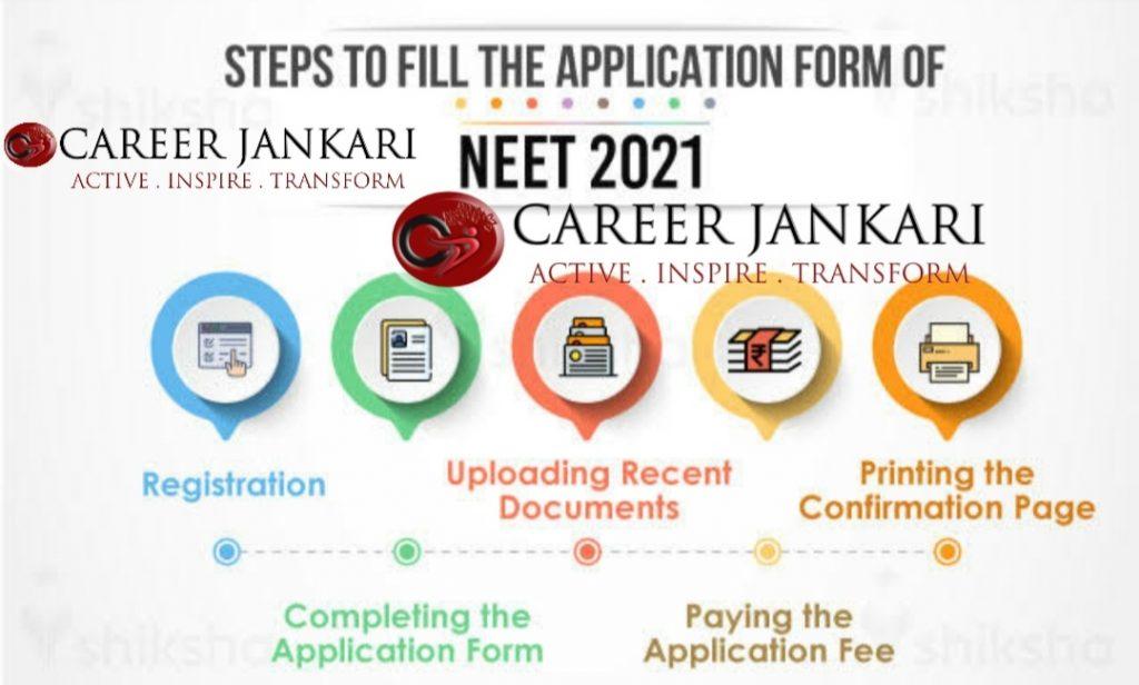 Neet 2021 Exam Online Registration