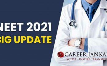 NTA NEET 2021 Updates
