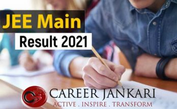 JEE Mains Result 2021