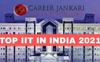 TOP IIT IN INDIA 2021