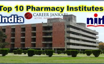 Top 10 Pharmacy College in India