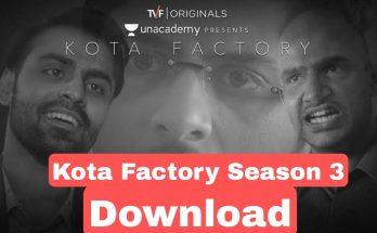 Kota Factory Season 3 Download Filmyzilla