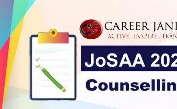JoSAA Counselling 2021